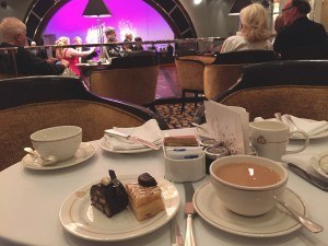 Tea Time on the QM2