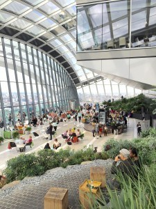 The Sky Garden in London.