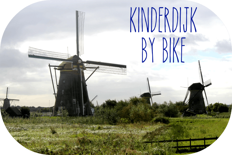Kinderdijk by Bike