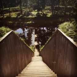 Moses Bridge at Fort De Roovere