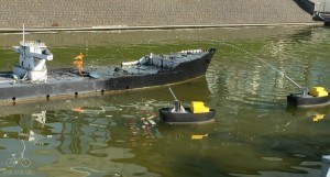 Fire Barge Madurodam