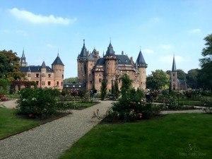 Formal Garden Kasteel De Haar Utrecht