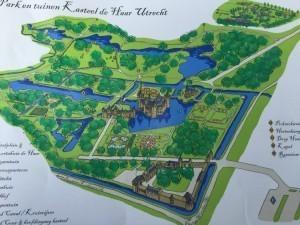 Kasteel De Haar Park Map