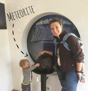 Meteorite in Utrecht