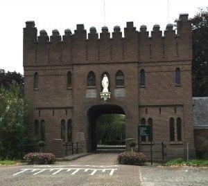 Entrance to La Trappe