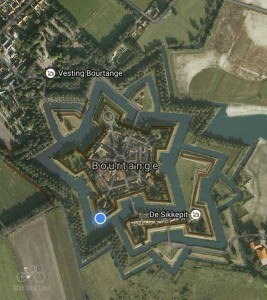 Google Earth View of Fort Bourtange