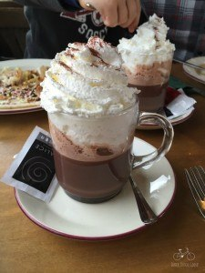 Hot Chocolate from the Pancake Cruise