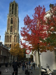 The Dom Tower, Utrecht in Fall