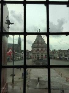 View from the Gouda Weighing House