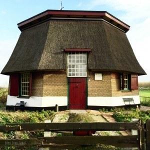 Windmill Base in Biesland Bos