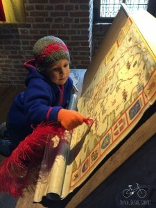 Writing the Map at Muiderslot