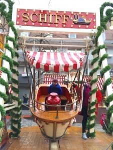Boat Ride in Nuremberg Christmas Market