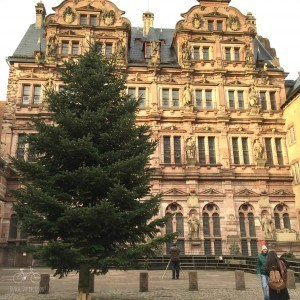 Chirstmas Tree in Heidelberg Castle
