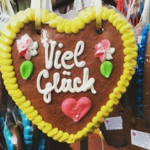 Gingerbread at Trier Christmas Market