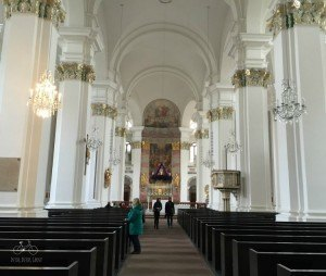 Heidelberg White Church Interior