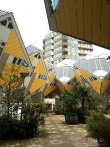 Rotterdam Cube Houses Upper Level