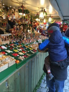 Shopping at the Christmas Markets