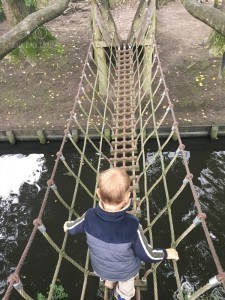 Breda Playground Crossing Water