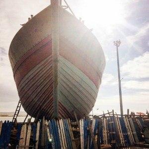 Essaouira Boat In Dry Dock