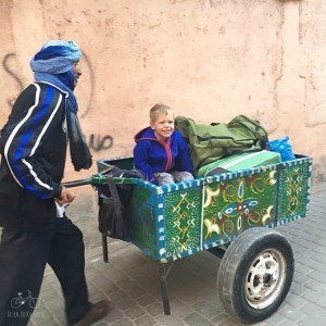 Getting a Lift to the Riad