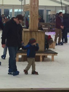 Learning to Ice Skate at Winterstation