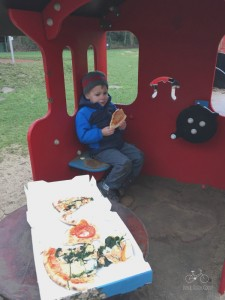 Pizza Lunch in Engelsberger Hof