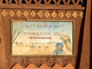 Tombouctou Sign
