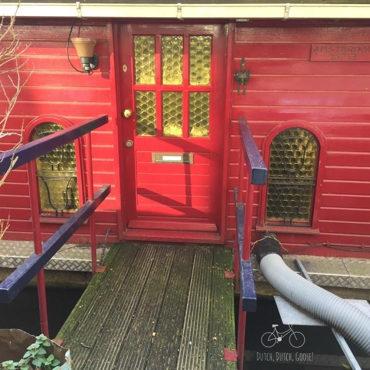 Amsterdam Boat House Door