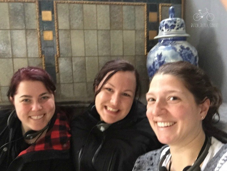 Friends at Royal Delft