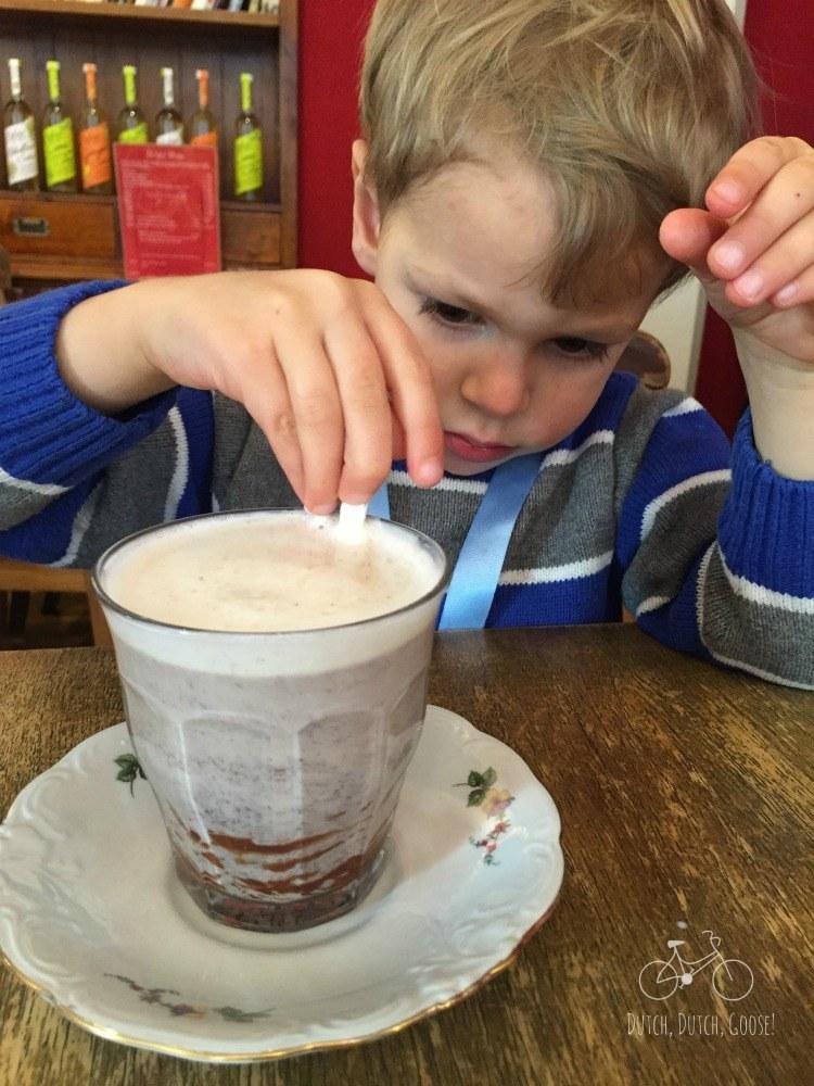 Hot Chocolate in Haarlem