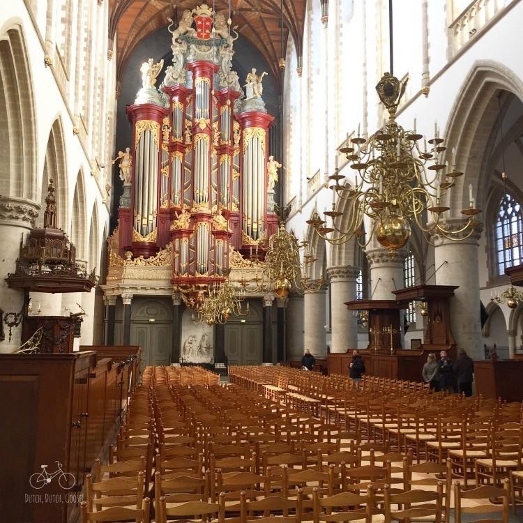 Mozart organ in Haarlem