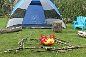 Camping Birthday Party in Holland