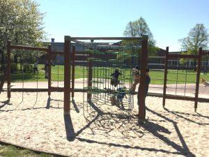 Climbing at Movement Playground Malmo