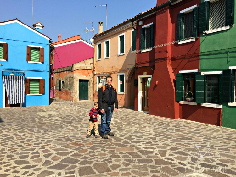 Color Houses of Burano