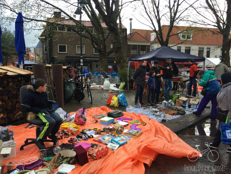 Kings Day Market Delft