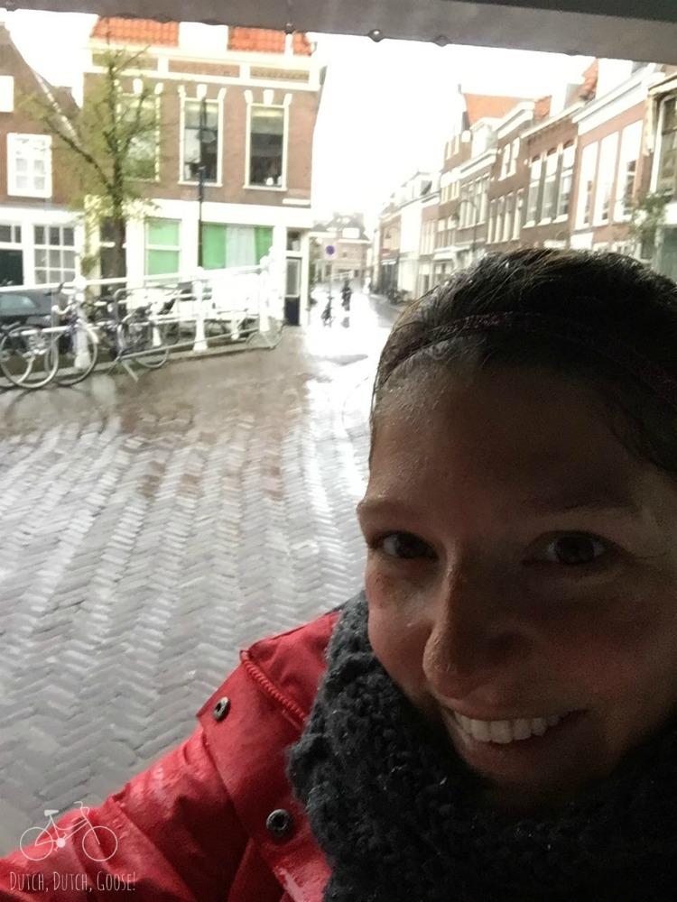 Kings Day Rain in Delft