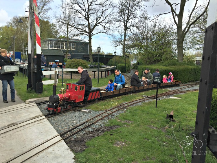 Ride the Model Railroad at Zuiderpark