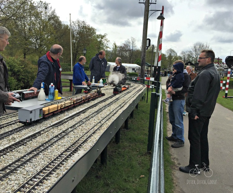 Small Model Railroad at Zuiderpark