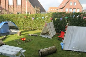 Tents in the Yard