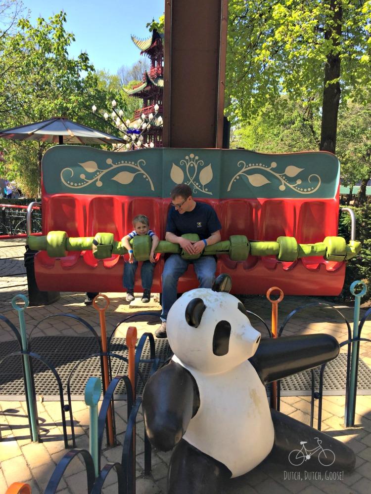 The Panda at Tivoli Gardens