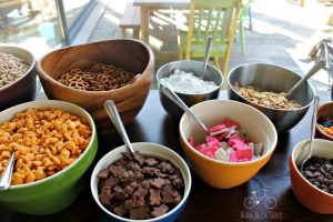 Trail Mix Camping Party