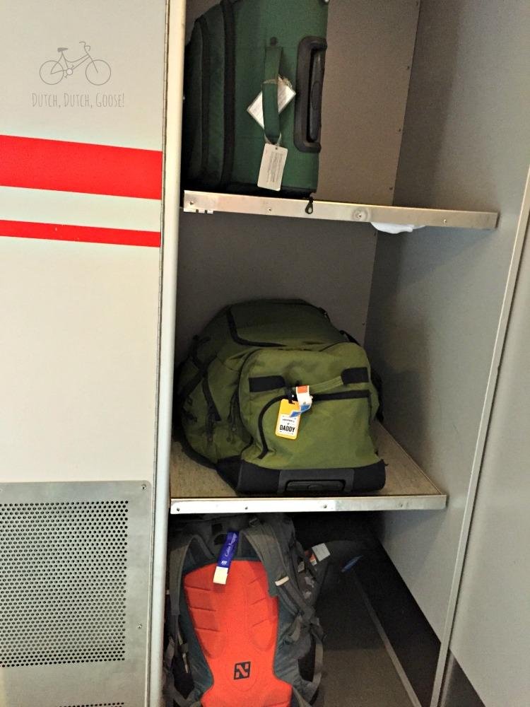 Baggage Storage in Family Car