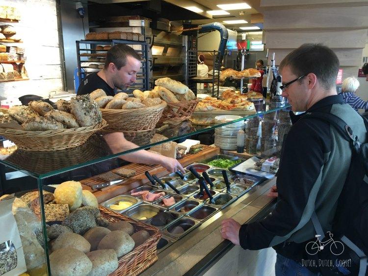 Bergen Sandwich Making