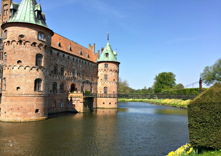 Drawbridge to Egeskov Castle
