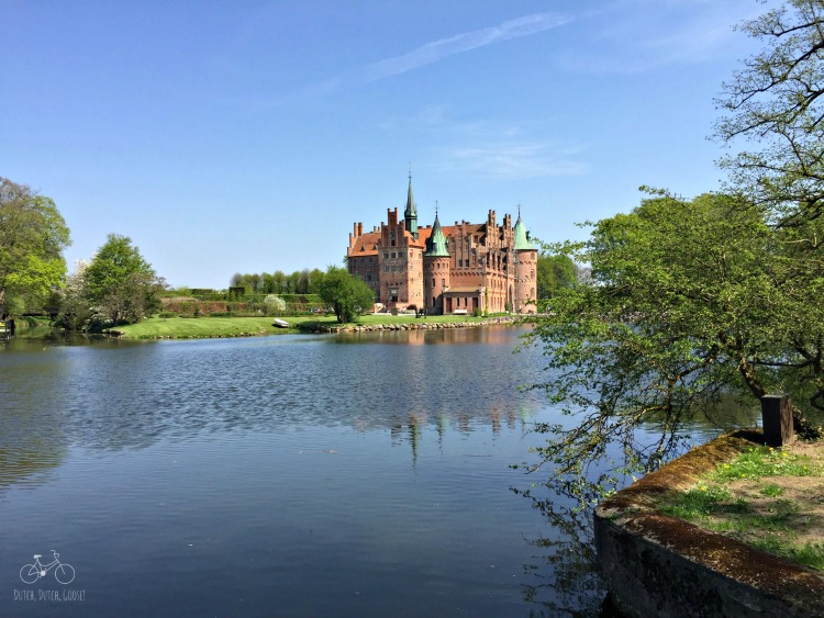 Egeskov Castle Across the Moat