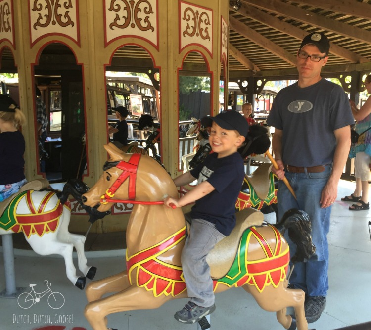 Old Carousel at Legoland Billund