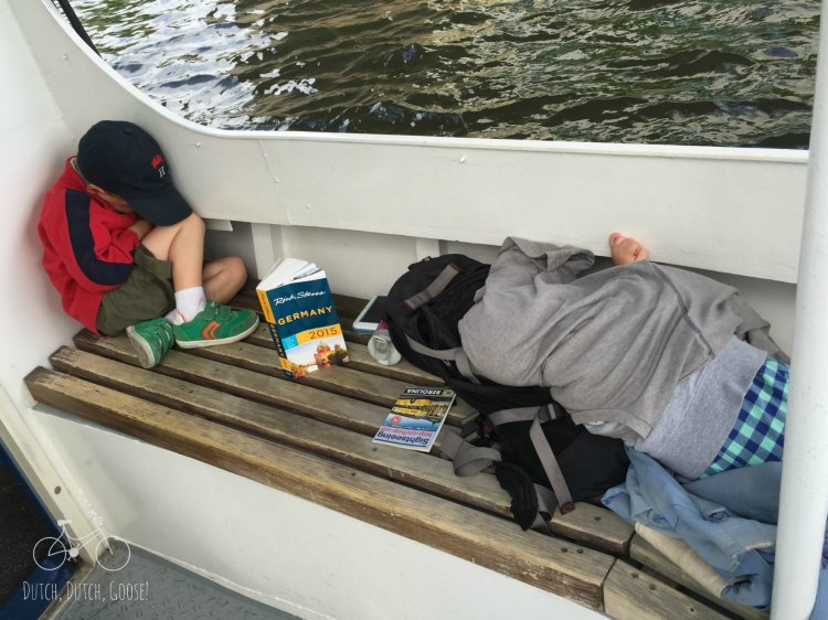 Sleeping on Berlin Cruise