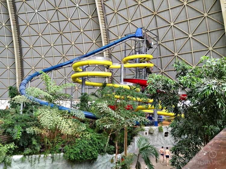 Tropical Islands Indoor Water Slides