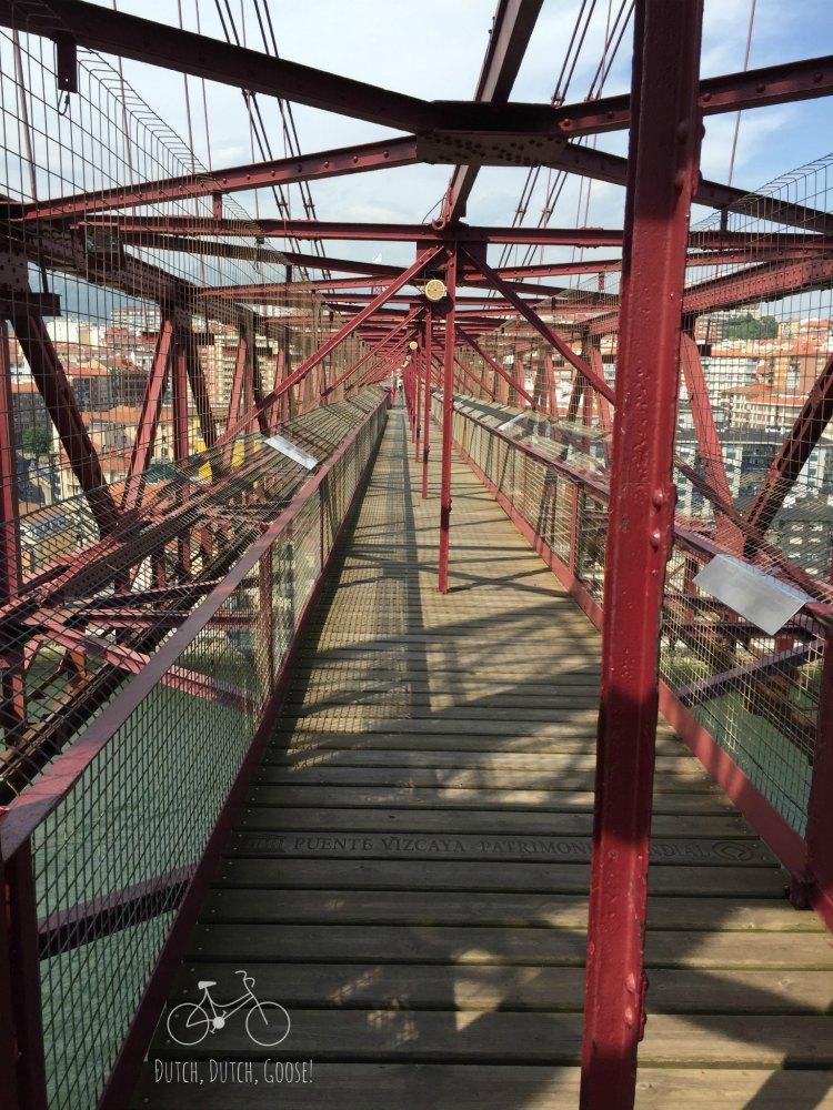 Bilbao Bridge Enclosed Walkway