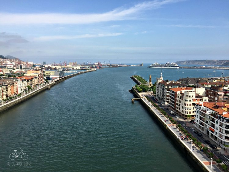 Bilbao Bridge View